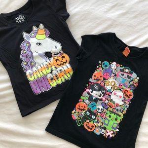 Other - Bundle of Two Girl's Halloween Tees